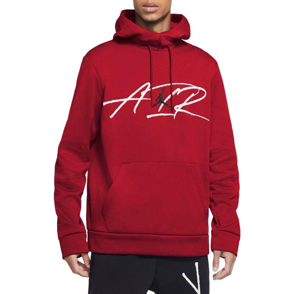 ナイキ ジョーダン Jordan メンズ フィットネス・トレーニング パーカー トップス【Air Therma Graphic Training Fleece Hoodie】Gym Red