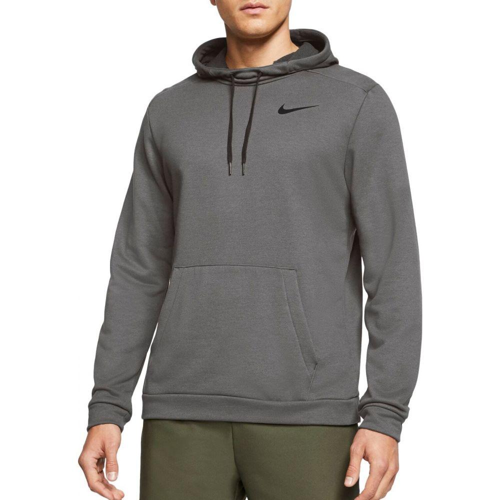 ナイキ Nike メンズ フィットネス・トレーニング ドライフィット パーカー トップス【Dri-FIT Training Hoodie】Charcoal