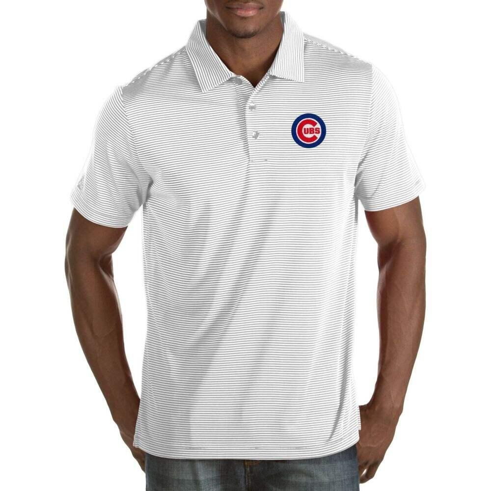 アンティグア メンズ トップス 特価 ポロシャツ サイズ交換無料 Antigua Performance Polo ファッション通販 Quest White Cubs Chicago