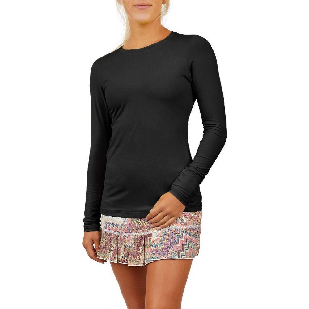ソフィベラ Sofibella レディース ブラウス・シャツ トップス【UV Long Sleeve Shirt】Black