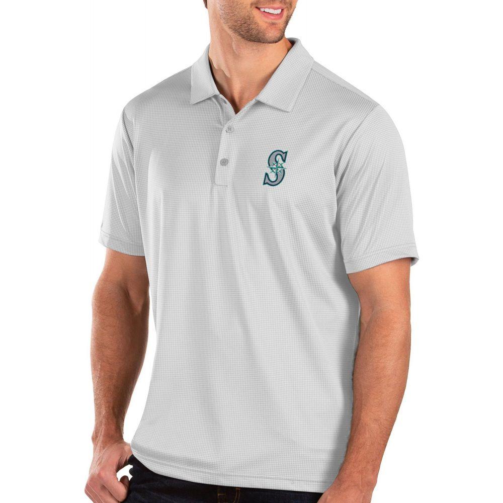 【おしゃれ】 アンティグア Antigua メンズ ポロシャツ トップス【Seattle Mariners White Balance Polo】, パンダ屋 3eef1645