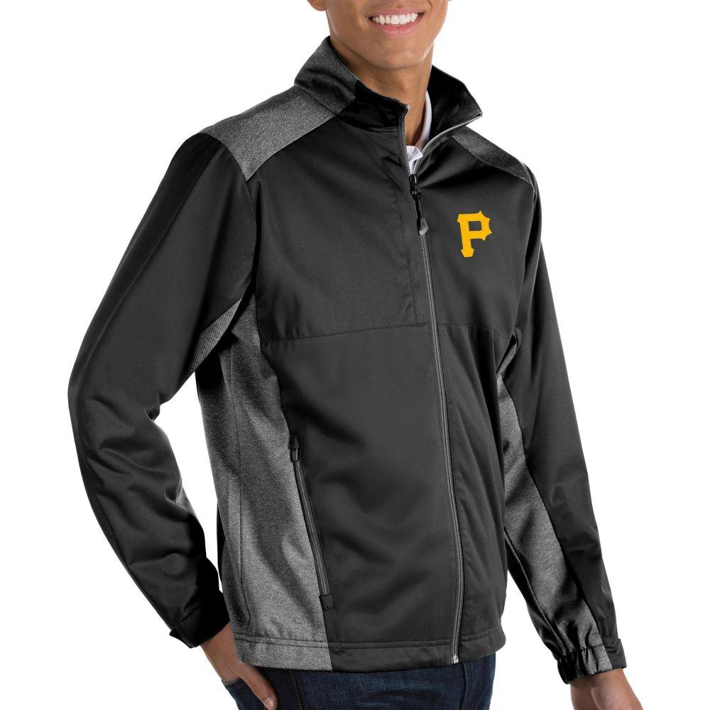 アウター【Pittsburgh Antigua メンズ Full-Zip Black ジャケット Revolve アンティグア Jacket】 Pirates