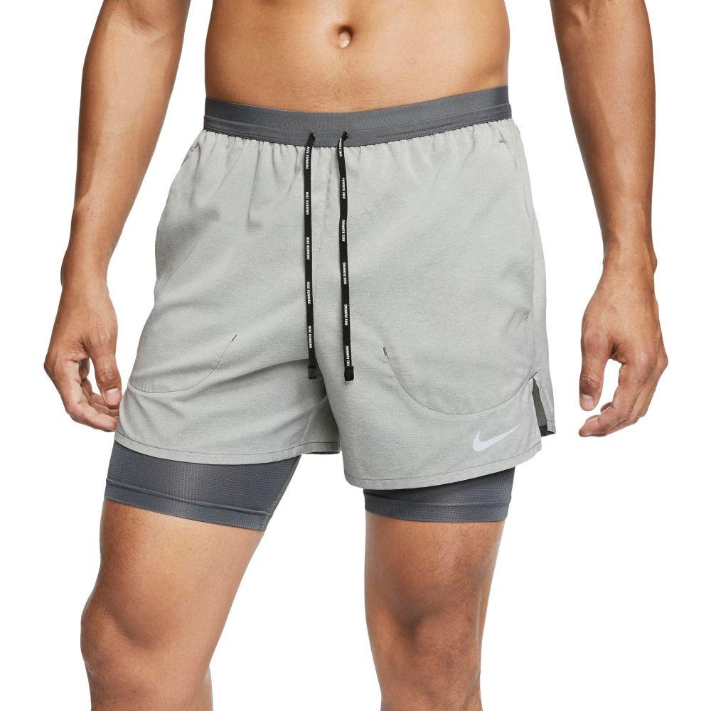 ナイキ メンズ ランニング ウォーキング ボトムス パンツ Iron Grey 送料無料お手入れ要らず サイズ交換無料 Nike ショートパンツ Shorts Stride and 2-in-1 Regular Tall Big 5 Flex オンライン限定商品 Running