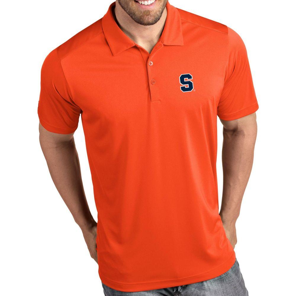 新規購入 アンティグア Antigua メンズ ポロシャツ トップス【Syracuse Orange Orange Tribute Performance Polo】, アットマークジュエリーMusic a9f1fe5b