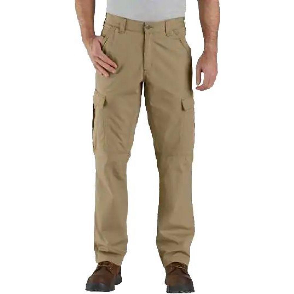 Work ワークパンツ カーハート メンズ Fit ボトムス・パンツ【Force Relaxed Pants】Dark カーゴパンツ Ripstop Khaki Cargo Carhartt