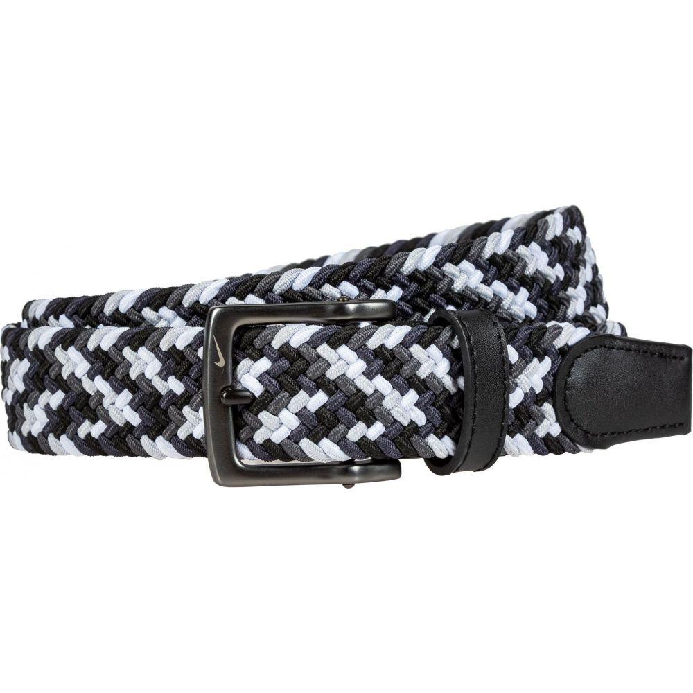 ナイキ メンズ 爆売りセール開催中 ゴルフ Black White サイズ交換無料 Belt Golf Stretch クリアランスsale!期間限定! ベルト Weave Nike