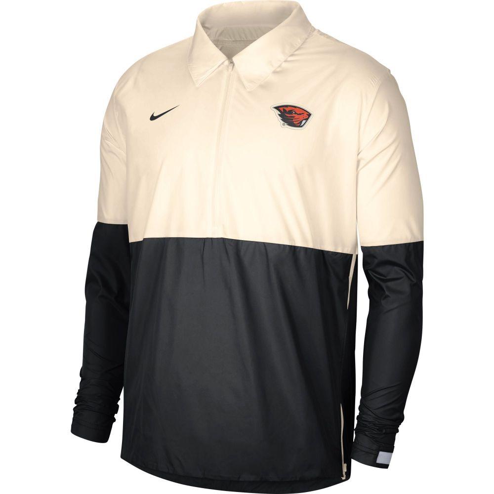 Lightweight アウター【Oregon Jacket】 メンズ Football ジャケット ナイキ Coach's Ivy/Black Nike Beavers コーチジャケット State
