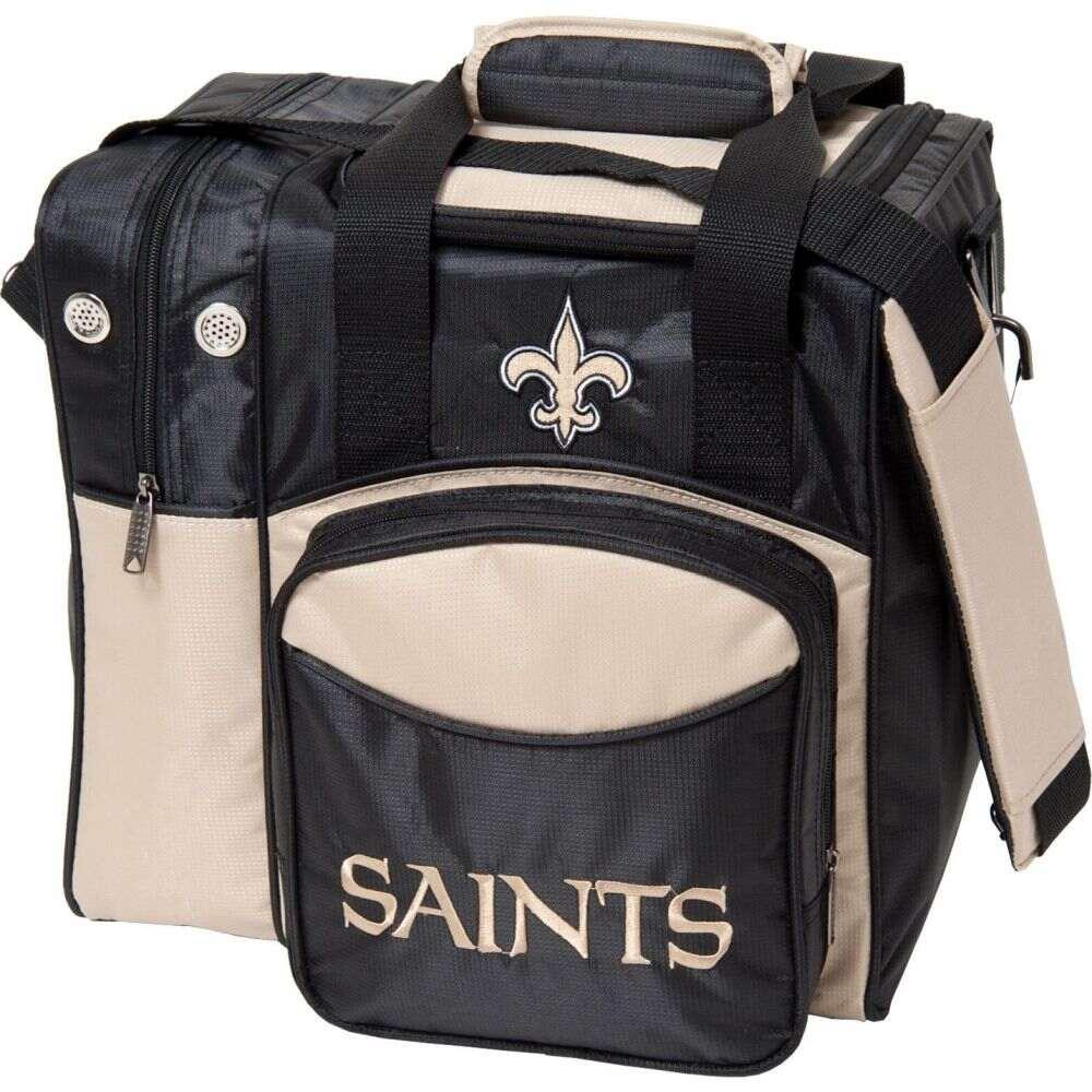 Tote Orleans Licensed ストライクフォース Saints ユニセックス トートバッグ Strikeforce Single ボウリング Bowling ボーリングバッグ Bag】New バッグ【NFL