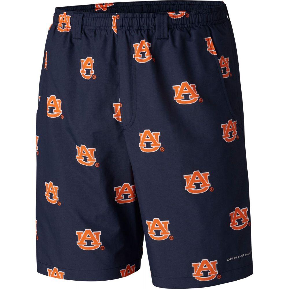 ショートパンツ メンズ Performance ボトムス・パンツ【Auburn II Blue Tigers コロンビア Printed Backcast Shorts】 Columbia