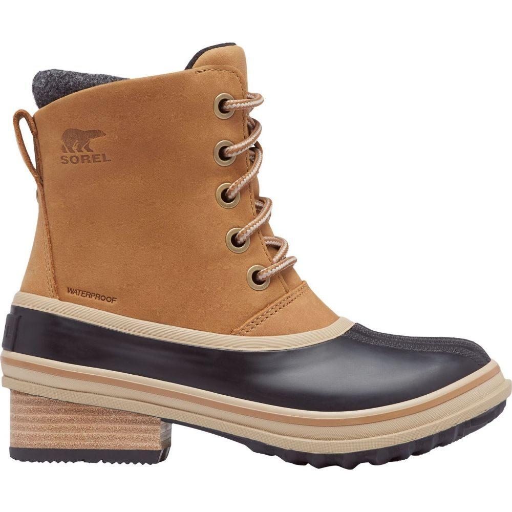 シューズ・靴【Slimpack Duck Boots】Elk SOREL レディース Lace ブーツ III ソレル 100g Waterproof