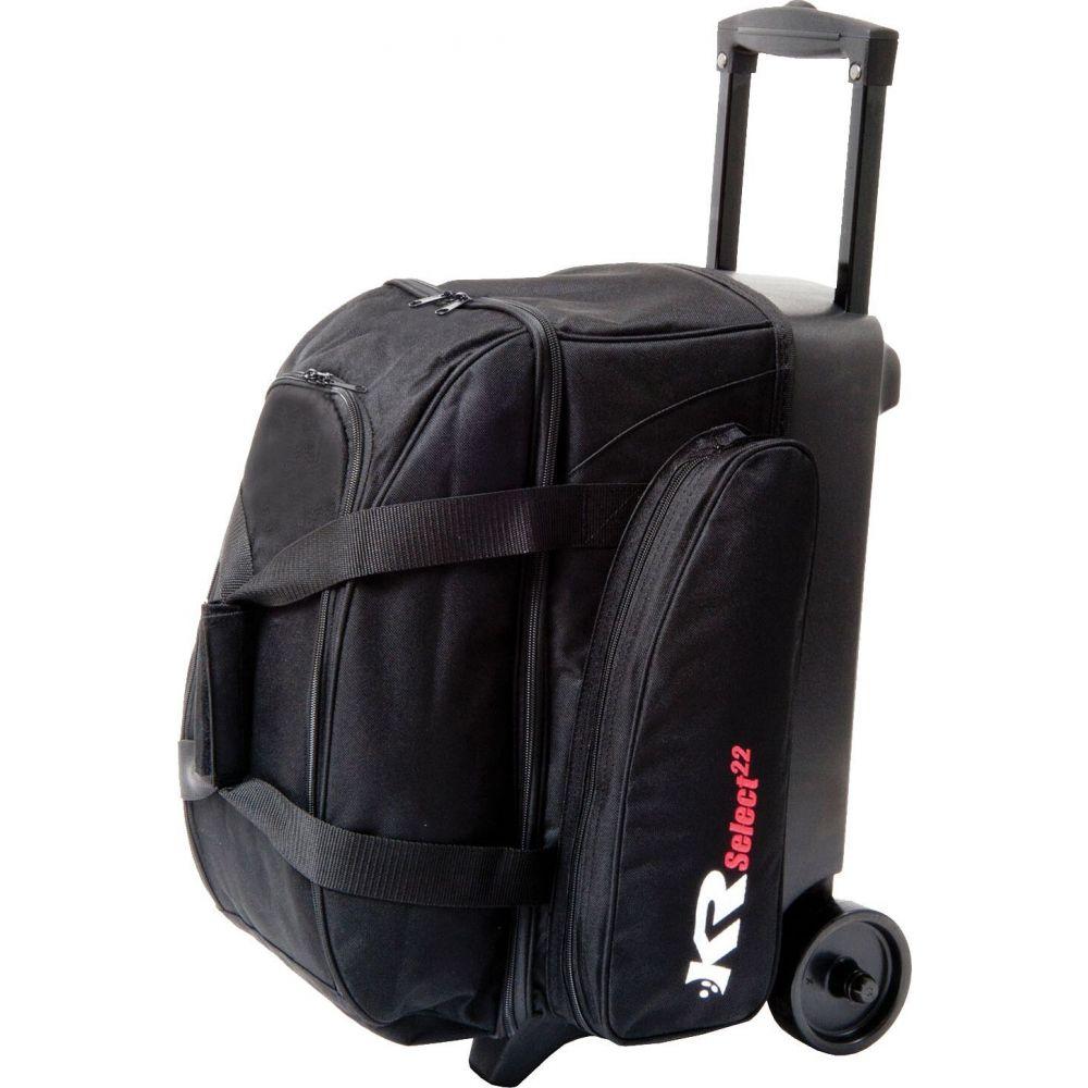 ボウリング Select Strikeforce Double ユニセックス Bag】Black Bowling ストライクフォース KR スーツケース・キャリーバッグ【KR ボーリングバッグ Roller