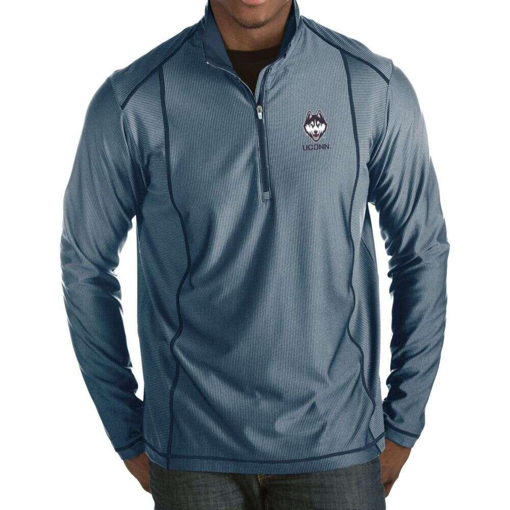 世界的に有名な アンティグア Antigua メンズ Blue メンズ トップス【UConn Huskies Blue Tempo Half-Zip Huskies Pullover】, 【2021秋冬新作】:458708ad --- coursedive.com