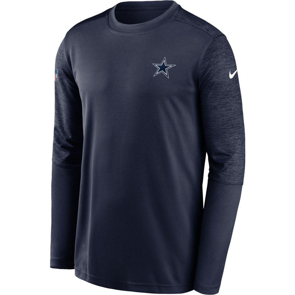 珍しい ナイキ Nike メンズ トップス 【Dallas Cowboys Sideline Coach Performance Navy Long Sleeve Shirt】, 【公式】バッグ通販TORATO dd3cdfe2