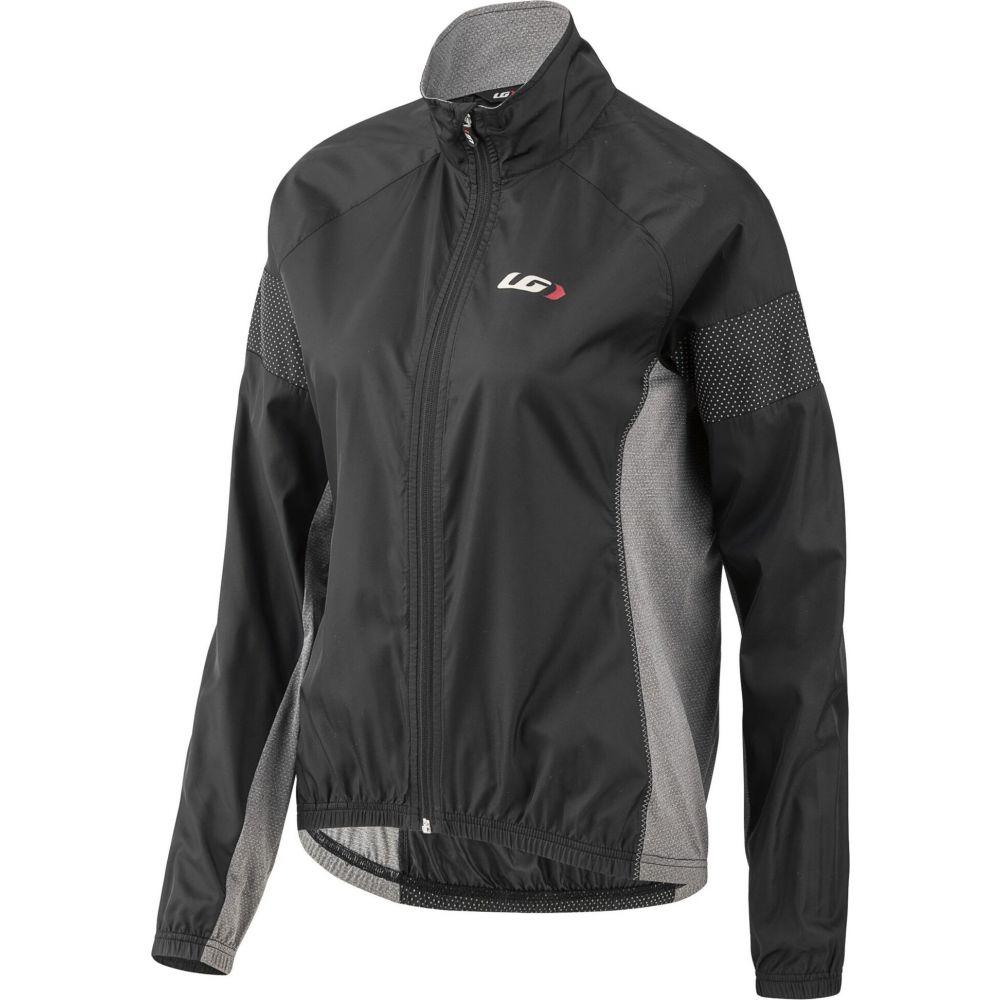 ルイガノ レディース 自転車 アウター Black/Grey 【サイズ交換無料】 ルイガノ Louis Garneau レディース 自転車 ジャケット アウター【Modesto 3 Cycling Jacket】Black/Grey