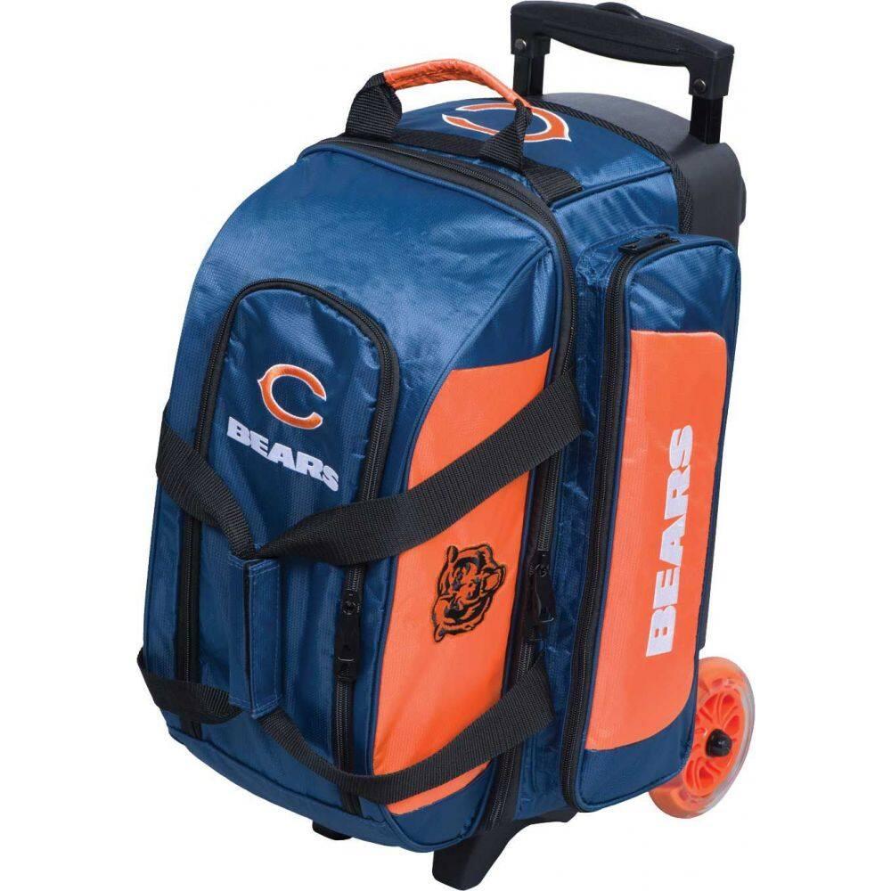 ボウリング Licensed Strikeforce Bears ユニセックス Bowling ストライクフォース Roller Double ボーリングバッグ Bag】Chicago スーツケース・キャリーバッグ【NFL
