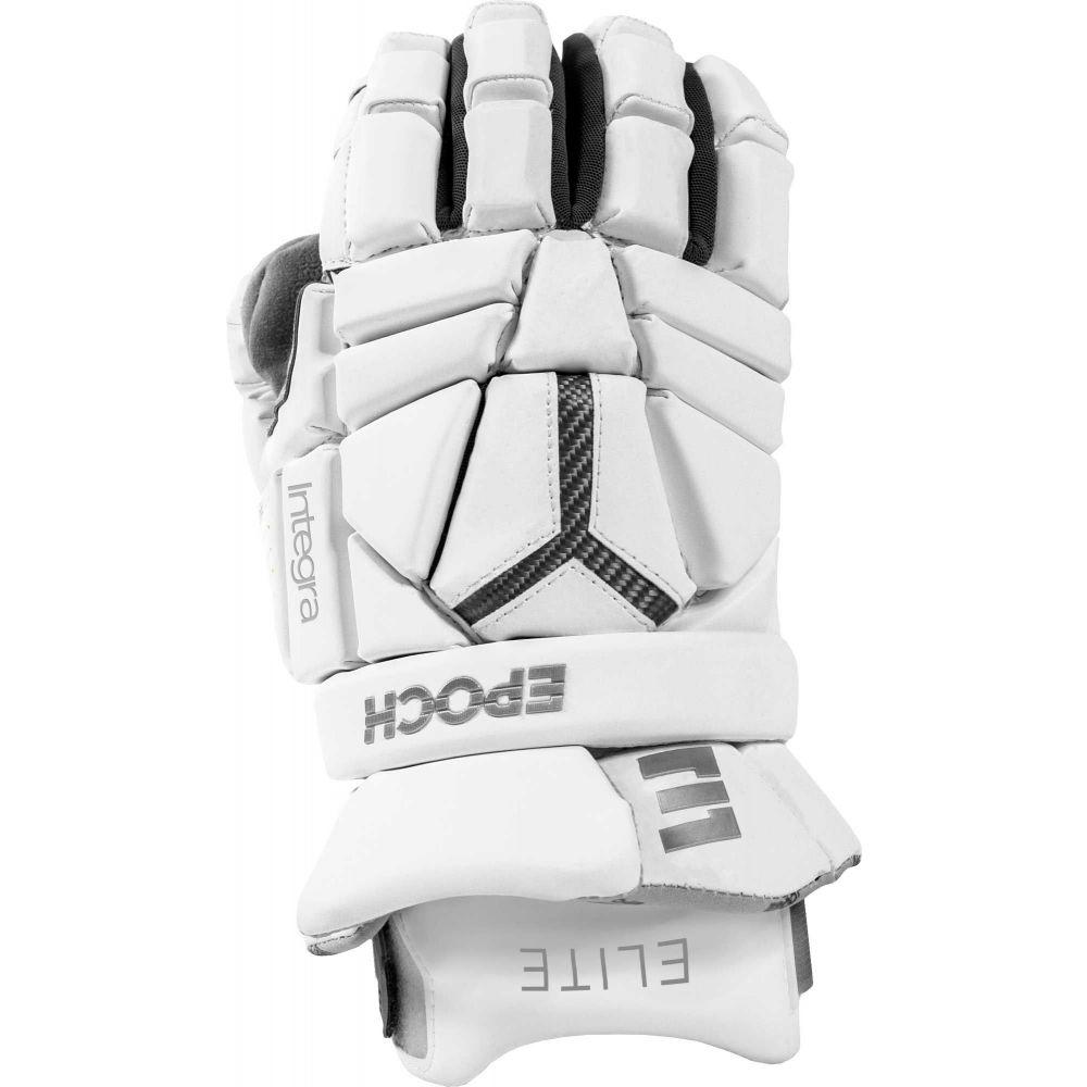 エピック Epoch Lacrosse メンズ ラクロス グローブ【Integra Elite Gloves】White