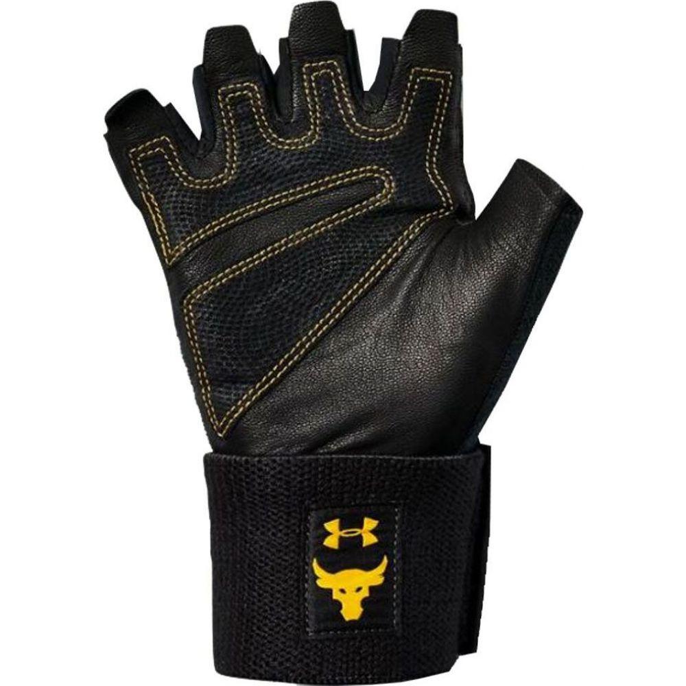 アンダーアーマー ユニセックス フィットネス トレーニング グローブ Black Steeltown Gold Under Training Glove サイズ交換無料 Project 格安 Rock 至高 Armour