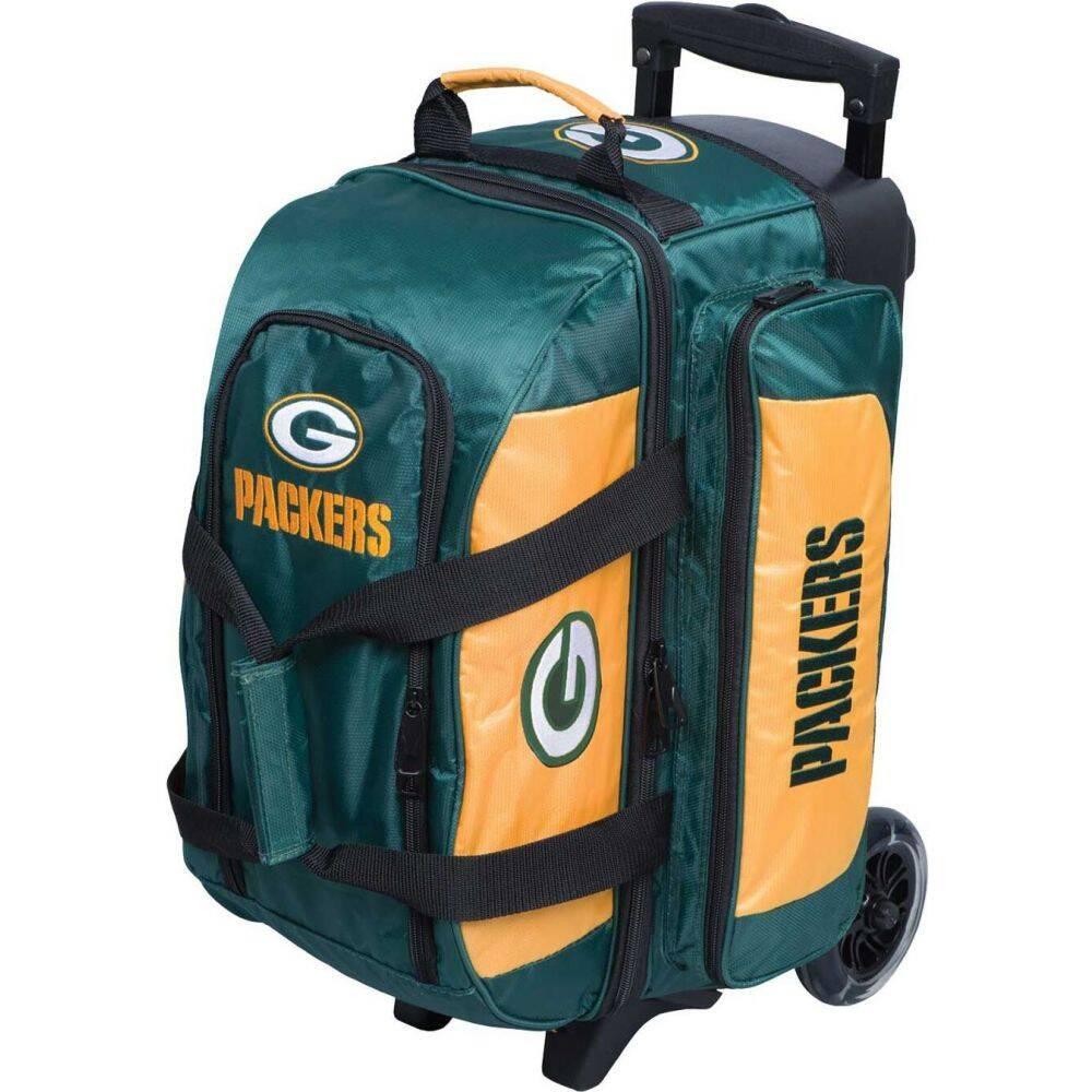 ボーリングバッグ ストライクフォース Bowling Bay スーツケース・キャリーバッグ【NFL Bag】Green Double Roller ユニセックス Packers Licensed ボウリング Strikeforce