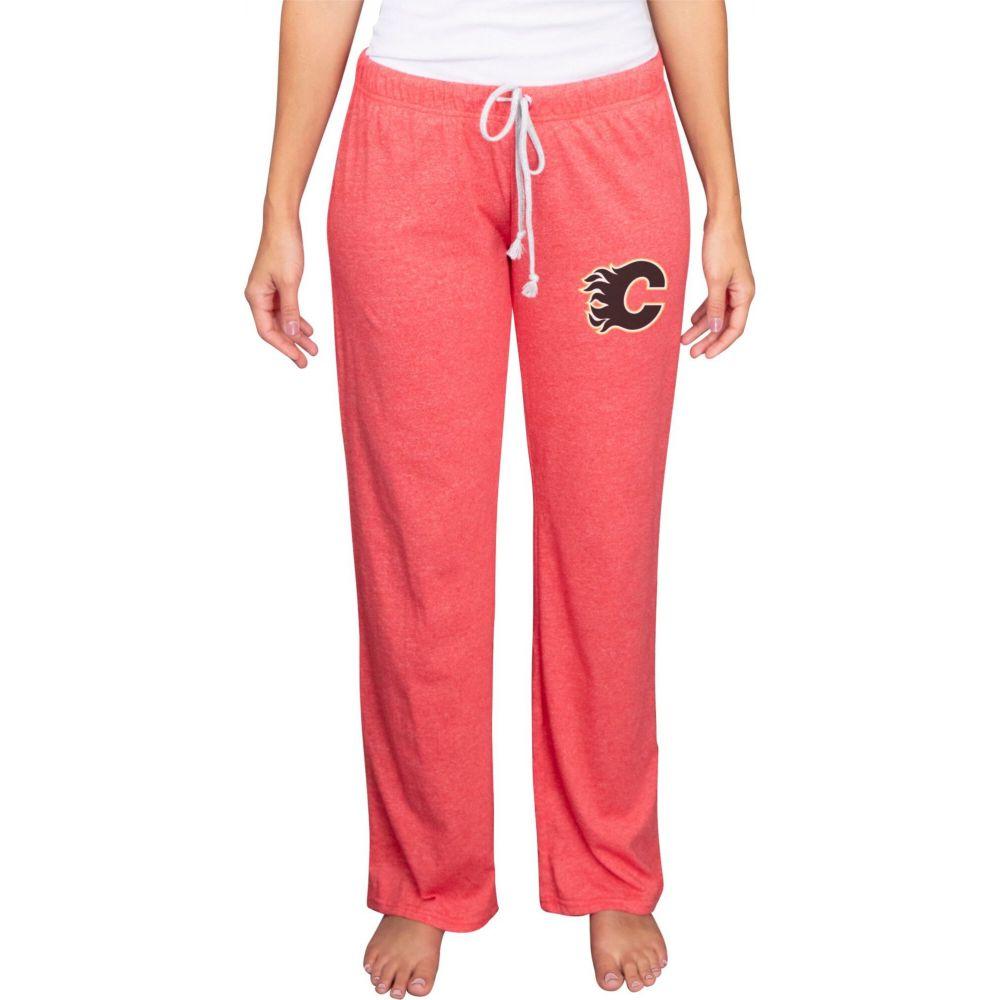 コンセプト ボトムス・パンツ Sport Quest スポーツ 【Calgary Flames レディース Pants】 Knit Concepts