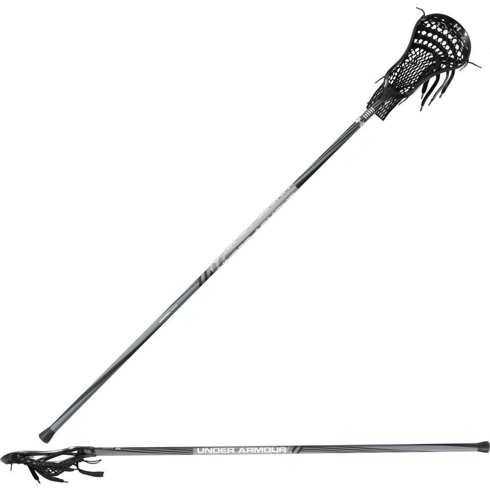 アンダーアーマー メンズ ラクロス Black 【サイズ交換無料】 アンダーアーマー Under Armour メンズ ラクロス スティック【Strategy 54 Defense Lacrosse Stick】Black