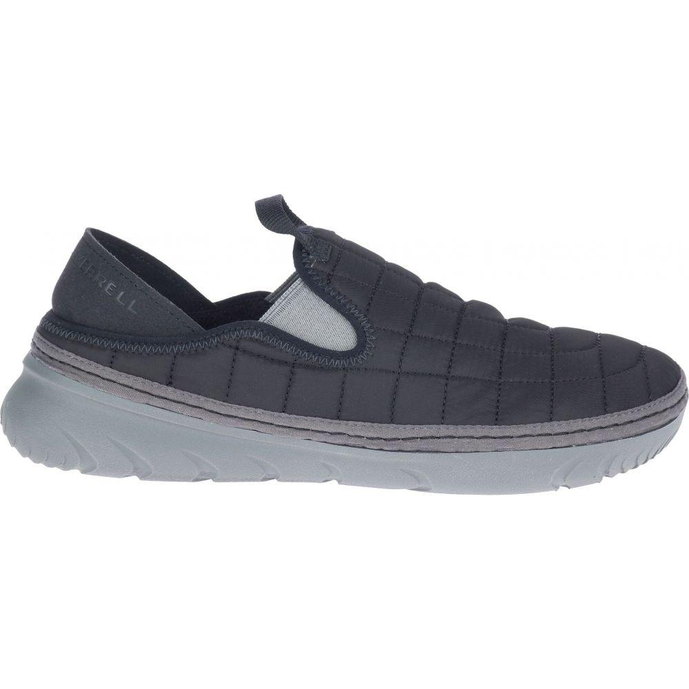 メレル Merrell レディース スリッポン・フラット シューズ・靴【Hut Moc Shoes】Black/Charcoal:フェルマート