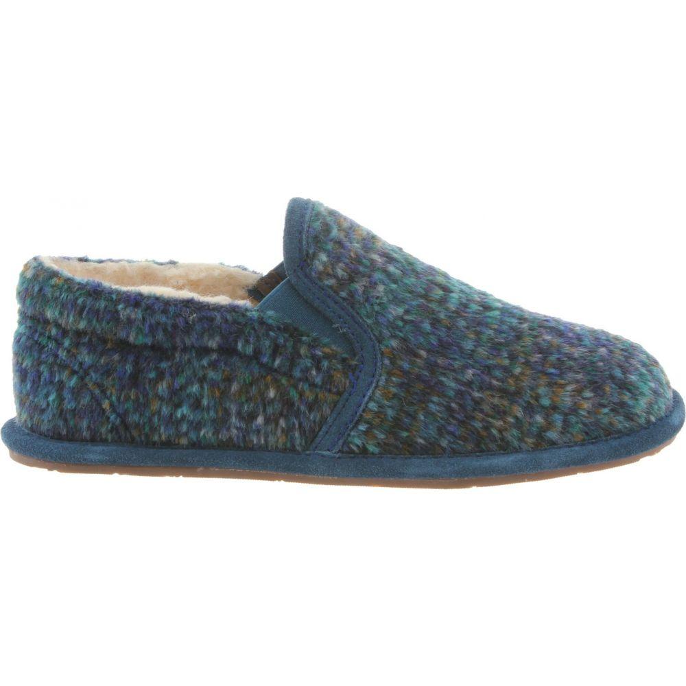Slippers】Slate BEARPAW レディース II スリッパ ベアパウ Blue シューズ・靴【Alana