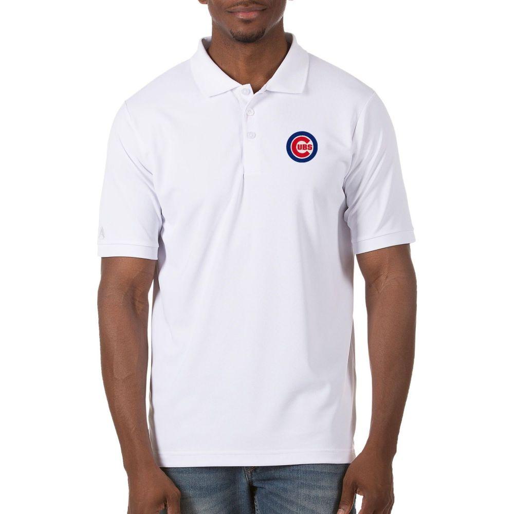 お歳暮 アンティグア Antigua Cubs メンズ ポロシャツ Legacy トップス【Chicago Cubs White Antigua Legacy Polo】, スチールラックのキタジマ:fae6cc1f --- cpps.dyndns.info
