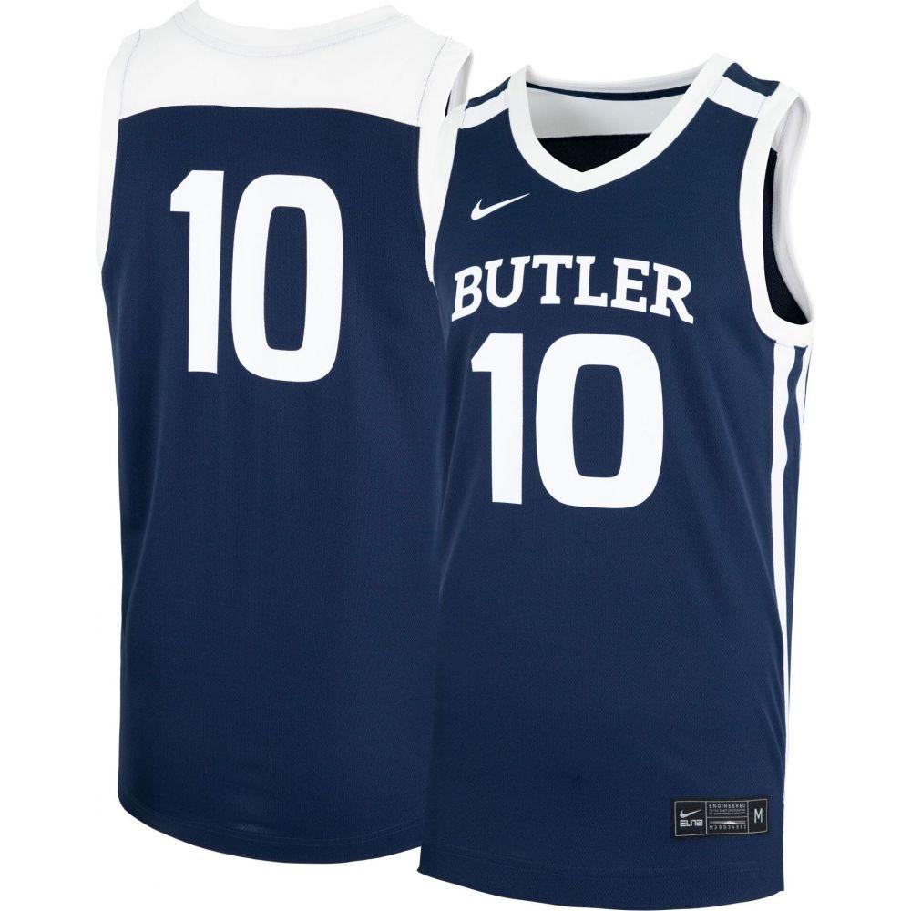 【お気に入り】 ナイキ Nike メンズ トップス【Butler Bulldogs #10 #10 Nike Blue ナイキ Replica Basketball Jersey】, 神棚の山丸:326732d3 --- coursedive.com