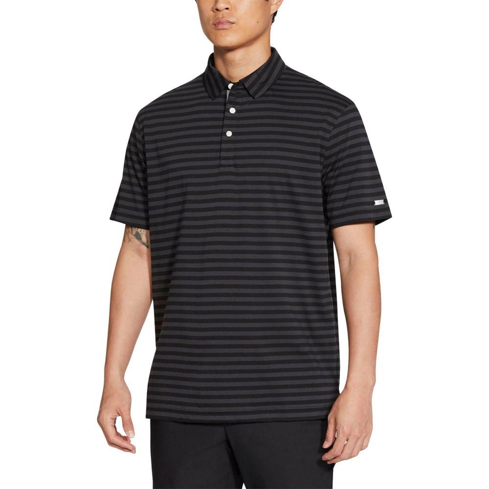 即日発送 ナイキ Nike メンズ ゴルフ ドライフィット Grey ポロシャツ トップス【Dri-FIT ゴルフ Player Player Striped Golf Polo】Black/Dark Grey, 渋谷区:9565c9d6 --- blacktieclassic.com.au
