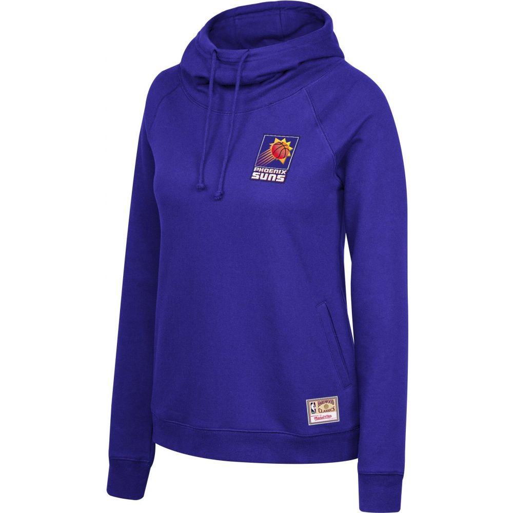 ミッチェルネス レディース トップス パーカー サイズ交換無料 Mitchell Ness Phoenix 交換無料 Neck Pullover 正規販売店 Purple Funnel Hoodie Suns