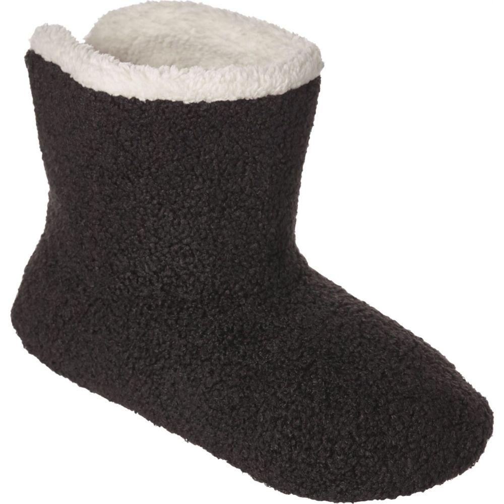 ノースイースト レディース インナー 下着 ソックス まとめ買い特価 Black サイズ交換無料 Outfitters 在庫処分 Slipper Cozy テディ Teddy Socks Northeast