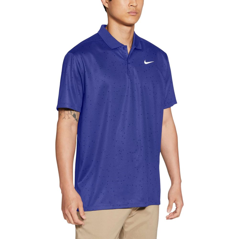 ナイキ メンズ ゴルフ トップス お気に入 Lapis サイズ交換無料 Nike ドライフィット Polo Printed 引き出物 ポロシャツ Golf Dri-FIT Victory