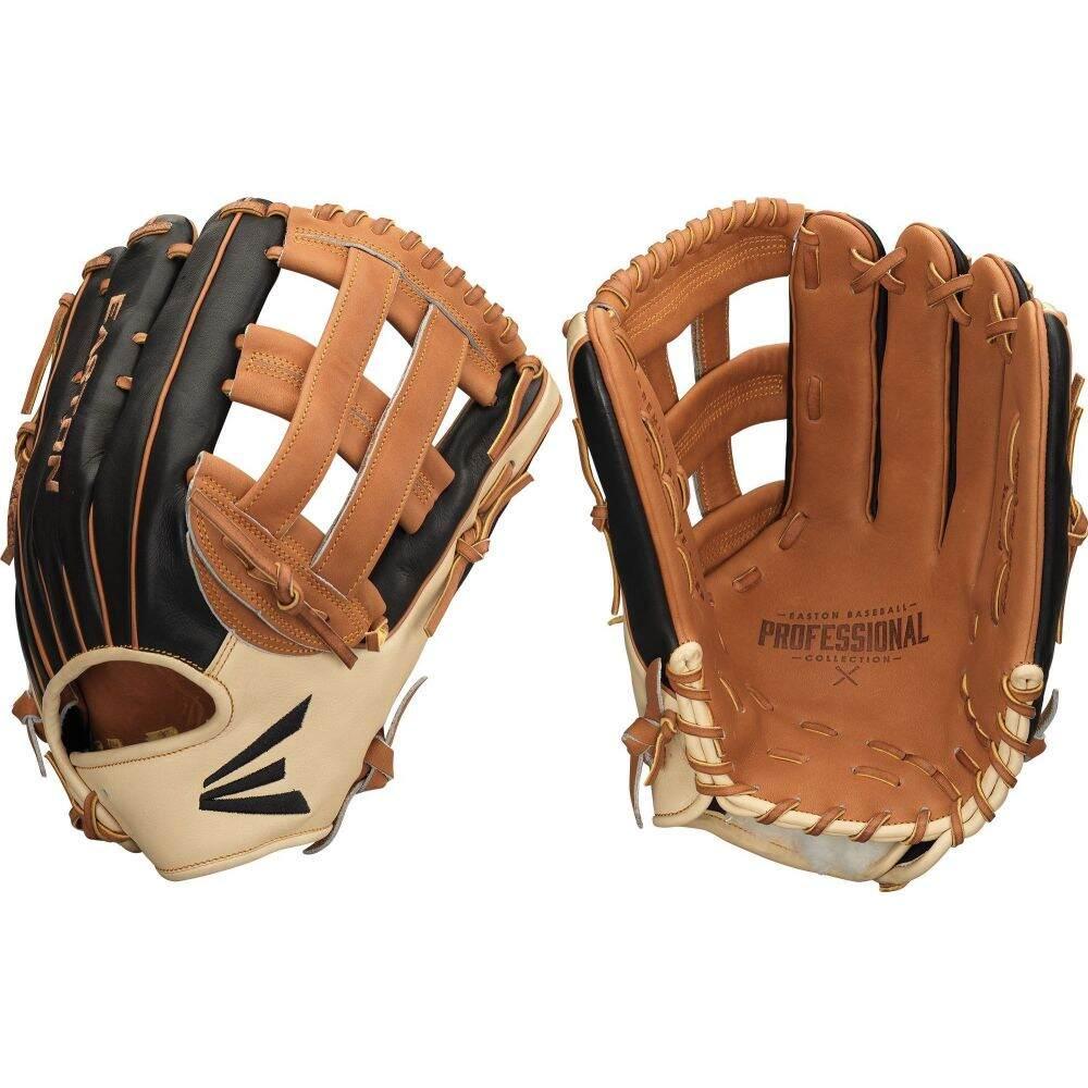 誕生日/お祝い イーストン ユニセックス 野球 グローブ Black サイズ交換無料 Easton Sports Series Collection 2020 Professional 訳あり Hybrid Glove 12.75''