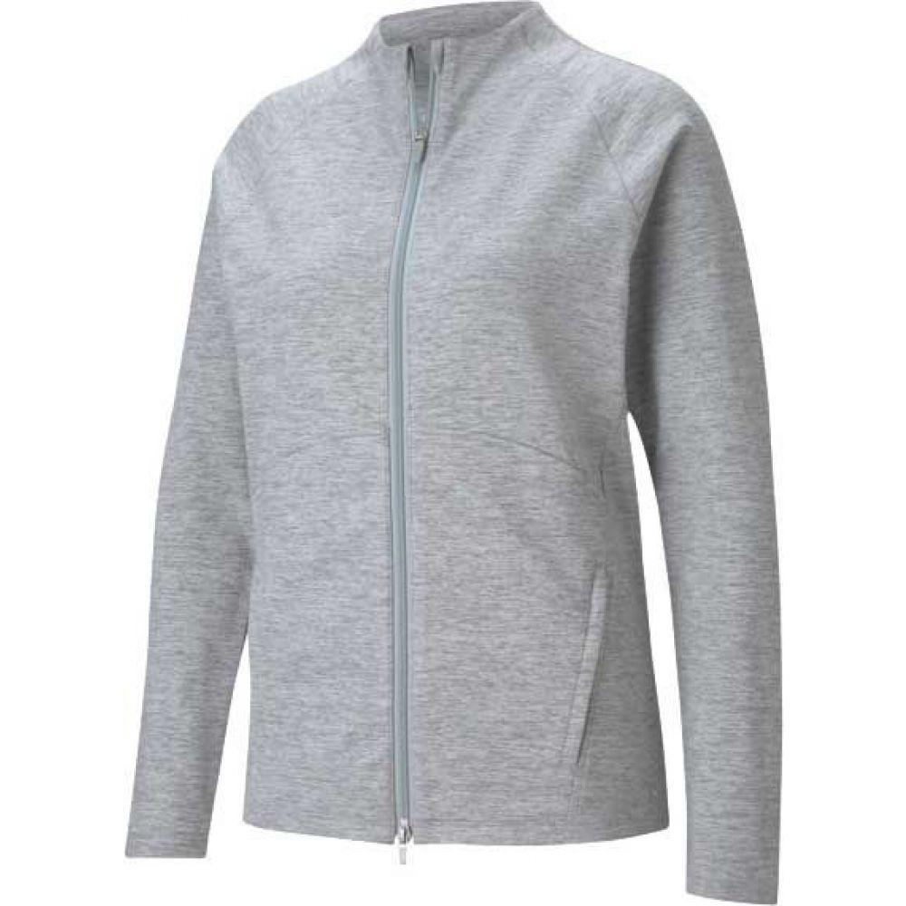 プーマ レディース 日本メーカー新品 トップス ベスト ジレ Light 日本全国 送料無料 Gray Heather Puma Vest サイズ交換無料 FZ Cloudspun PUMA