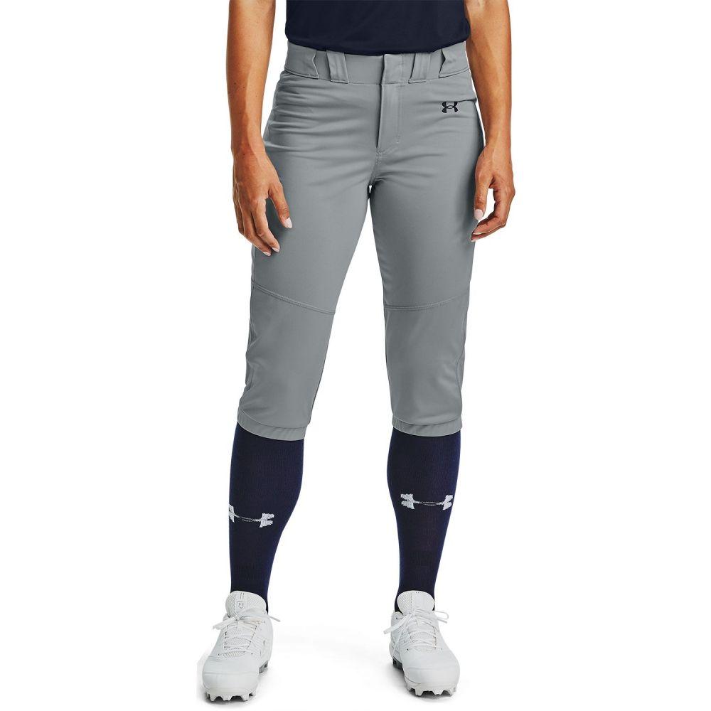 アンダーアーマー レディース 野球 ボトムス 人気ブランド多数対象 パンツ Gray Under サイズ交換無料 Softball Vanish Armour Pants 全国一律送料無料