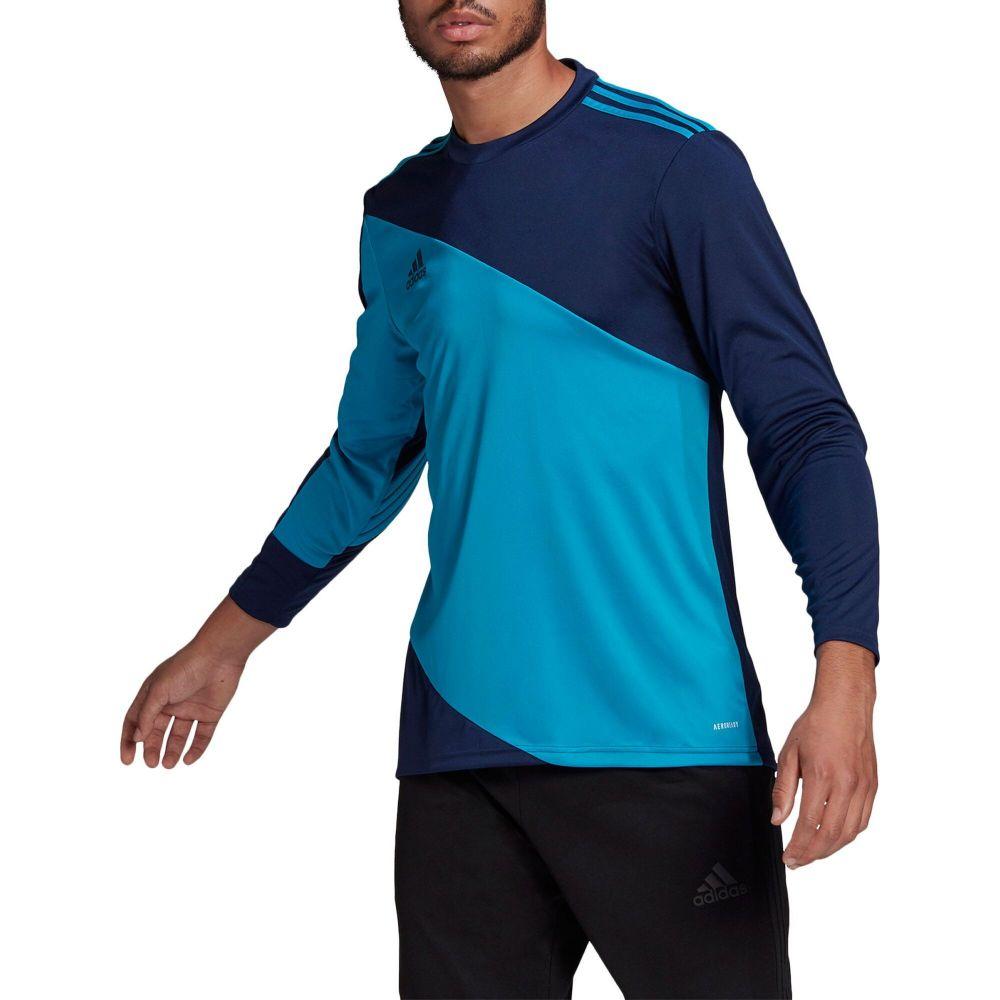 アディダス メンズ サッカー トップス Team Navy Blue Bold サイズ交換無料 Squadra 超激得SALE adidas 日本メーカー新品 ジャージ Goalkeeper 21 Jersey Aqua