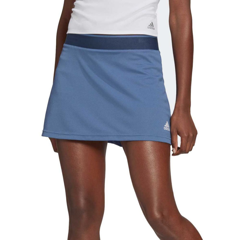 アディダス 新作 人気 レディース テニス ボトムス パンツ Crew Blue adidas サイズ交換無料 Skort スカート 海外 White Tennis Club