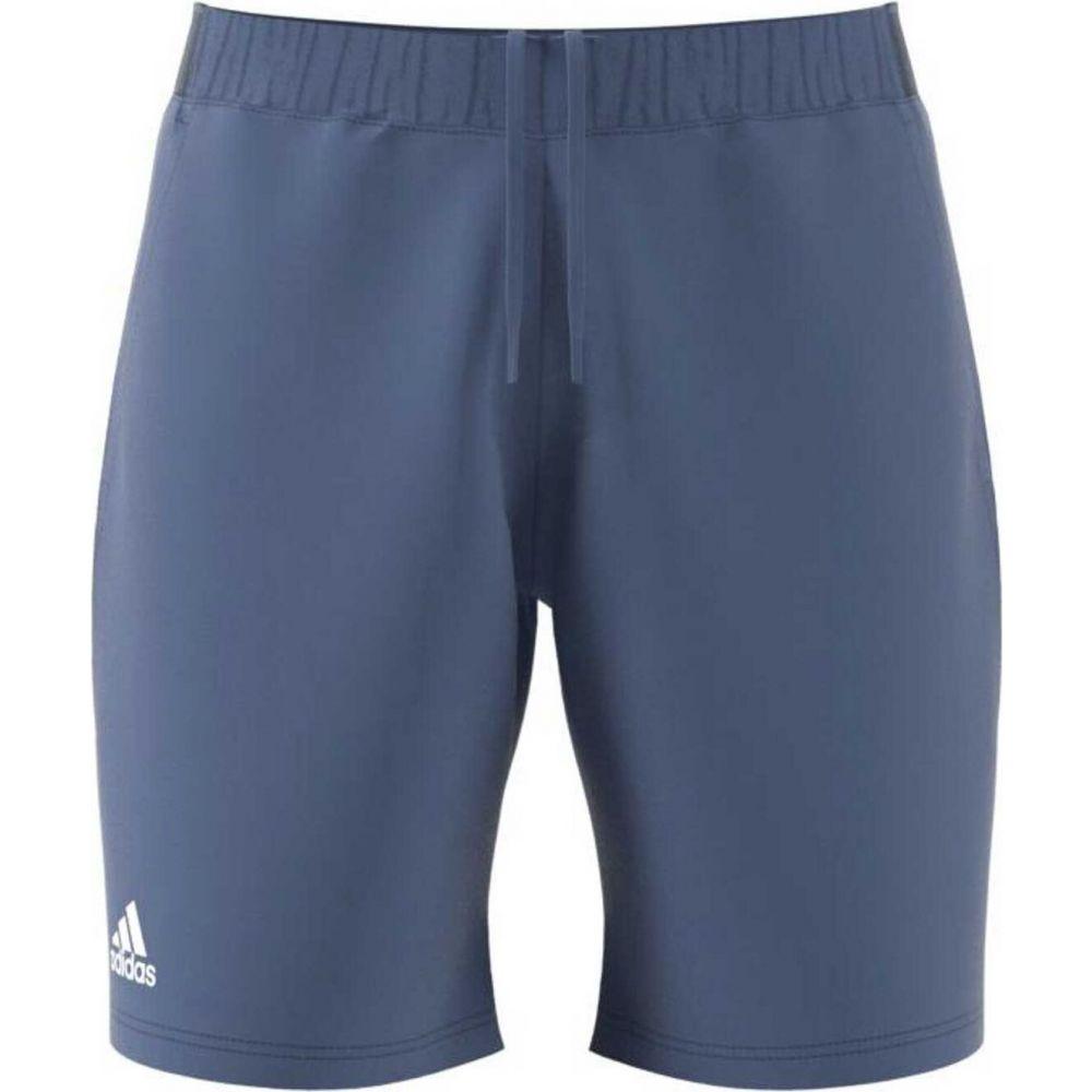 アディダス 2020新作 メンズ テニス ボトムス パンツ Crew 気質アップ Blue White Club adidas Shorts Tennis サイズ交換無料 ショートパンツ 7