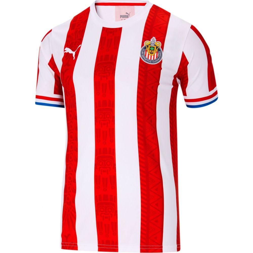 プーマ メンズ サッカー トップス 送料込 サイズ交換無料 PUMA Home Tシャツ Chivas T-Shirt 倉 Fan