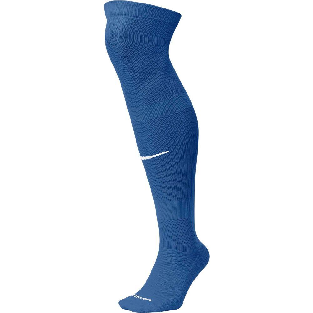ナイキ レディース サッカー Team Royal White 休み サイズ交換無料 Nike Socks MatchFit Knee-High Soccer ソックス 安い