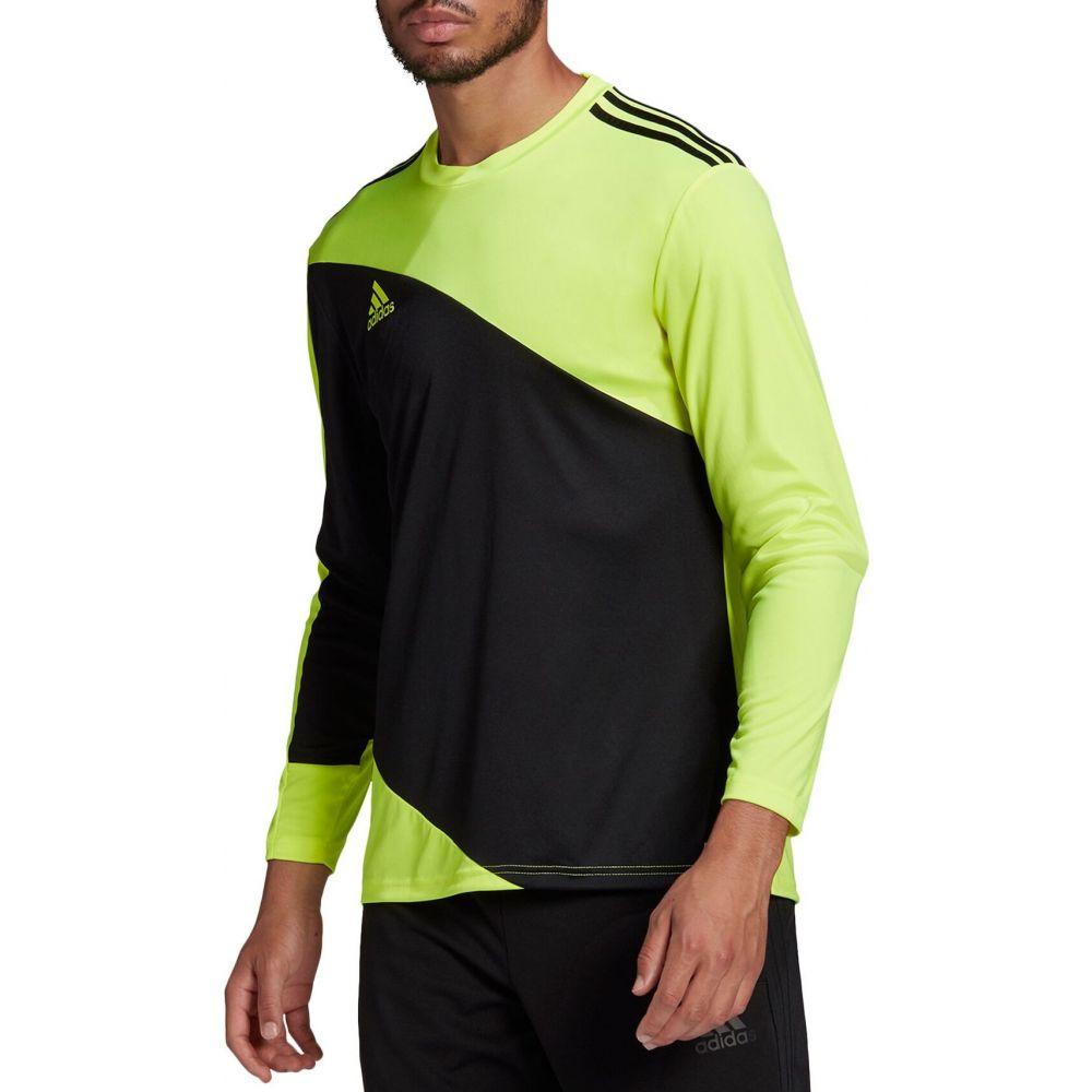 アディダス メンズ サッカー トップス Team SALE開催中 Solar Yellow Black ジャージ adidas サイズ交換無料 21 Goalkeeper 一部予約 Jersey Squadra