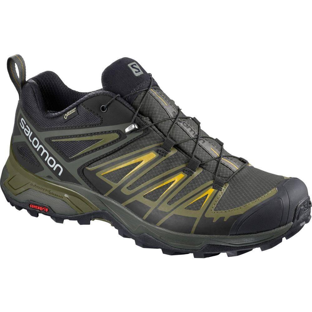 サロモン メンズ ハイキング 登山 シューズ 靴 Castor Grey アウトレット サイズ交換無料 X オンラインショップ Salomon Ultra GTX Shoes 3 Hiking Waterproof