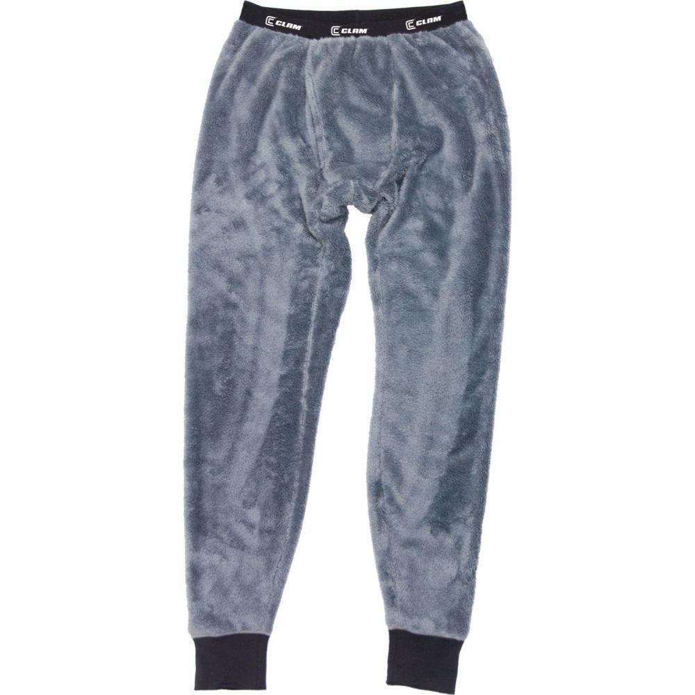 カーム メンズ インナー・下着 タイツ・スパッツ Grey 【サイズ交換無料】 カーム Clam Outdoors メンズ タイツ・スパッツ ベースレイヤー インナー・下着【Clam IceArmor Sub Zero Base Layer Pants】Grey