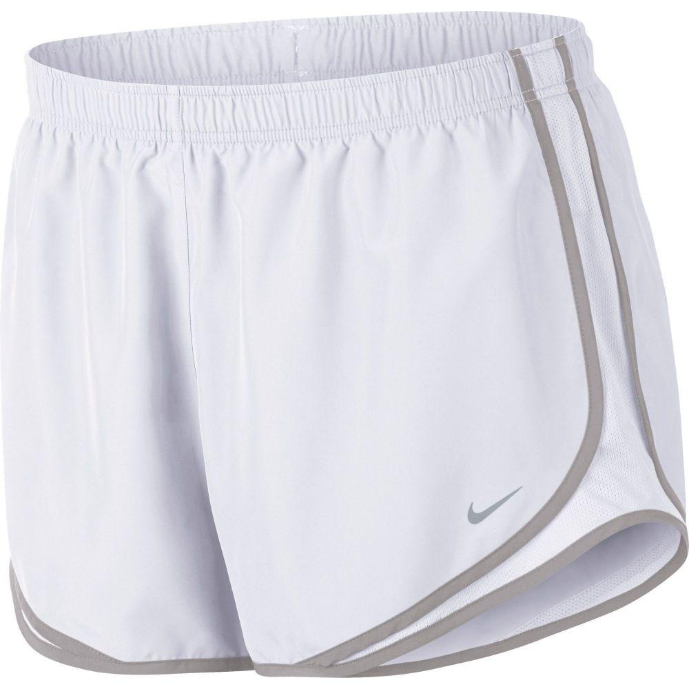 ナイキ レディース ランニング・ウォーキング ボトムス・パンツ White/Atmosphere Grey 【サイズ交換無料】 ナイキ Nike レディース ランニング・ウォーキング ショートパンツ ボトムス・パンツ【Tempo Dry Core 3'' Running Shorts】White/Atmosphere Grey