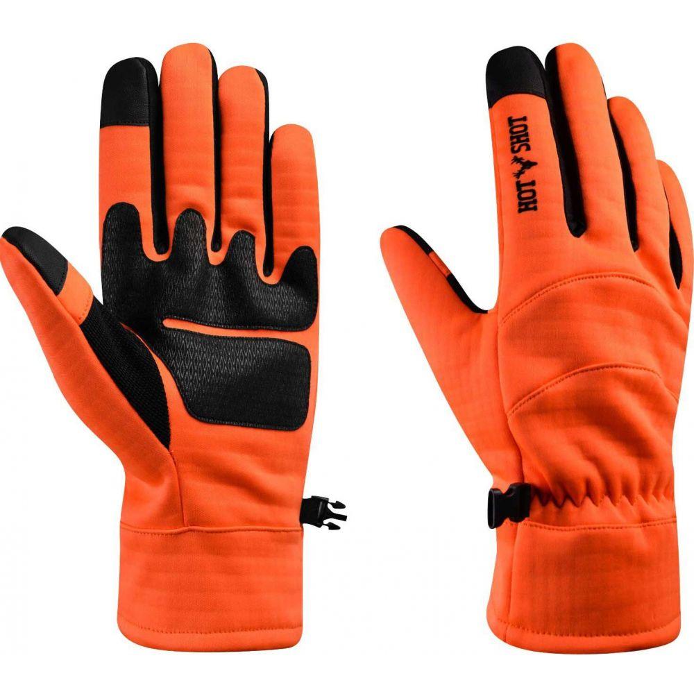 ホットショット メンズ ファッション小物 手袋 グローブ Blaze Orange 人気急上昇 サイズ交換無料 Swiftstrike Shot Gloves Hunting 受賞店 Hot