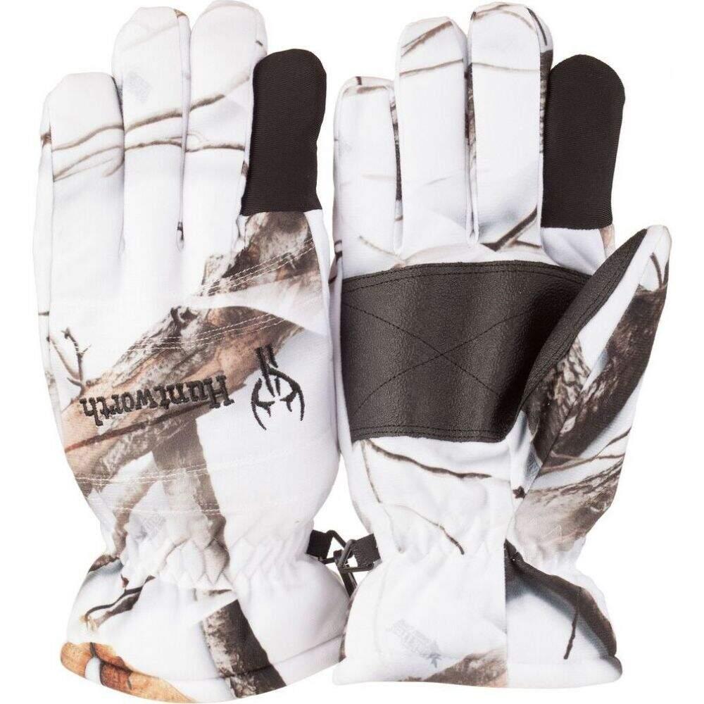 ハントワース メンズ ファッション小物 手袋 グローブ ふるさと割 Snow Huntworth サイズ交換無料 Camo Gloves Hunting Insulated デポー