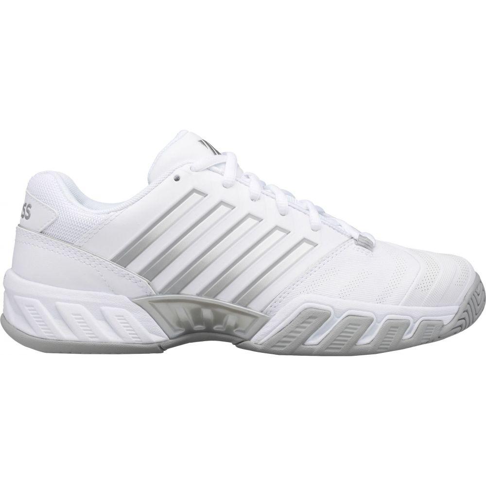 ケースイス レディース テニス 今だけ限定15%OFFクーポン発行中 シューズ 靴 White お買い得 Silver Bigshot Shoes Tennis サイズ交換無料 4 K-Swiss Light