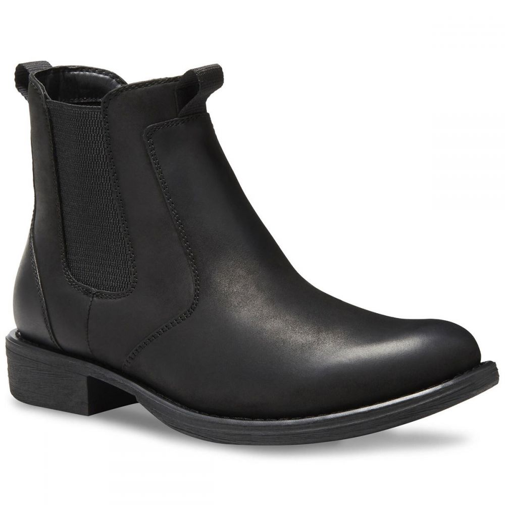 イーストランド EASTLAND メンズ ブーツ シューズ・靴【daily double chelsea boots, black】BLACK LEATHER