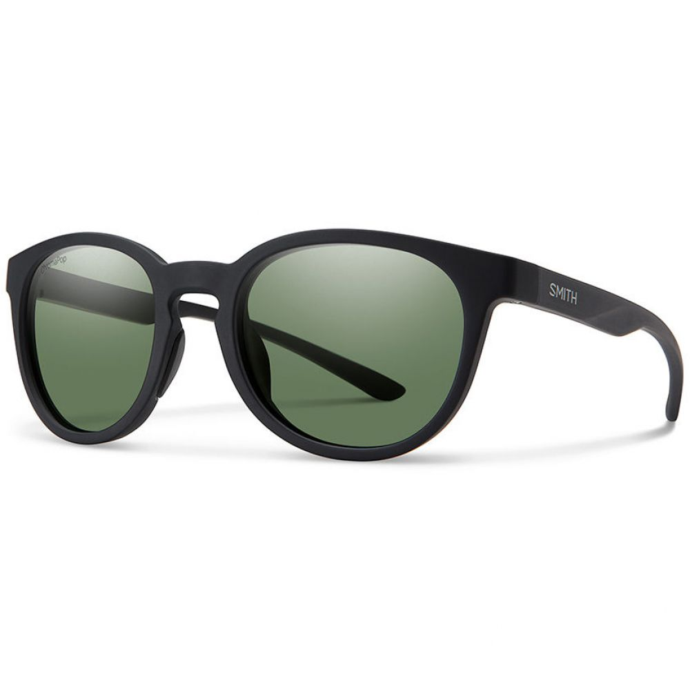 スミス SMITH メンズ メガネ・サングラス 【Eastbank Sunglasses with Polarized Lenses】MATTE BLK/GREY GREEN