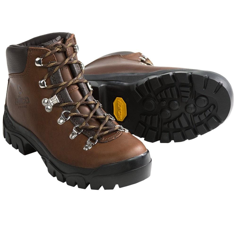アリコ Alico レディース ハイキング シューズ・靴【Backcountry Hiking Boots - Leather 】Brown